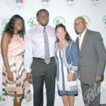 Angel Williams, Davin Joseph, Hallandale Beach Mayor Joy Cooper, Vice Mayor Anthony Sanders