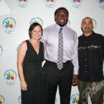 Cynthia Corilla, Davin Joseph, Jonathan Carillo, Executive Director Police Athletic League of Hallandale Beach