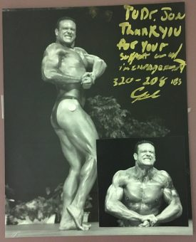 Body Building Competitor
