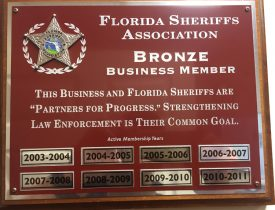 Florida Sheriff Association Bronze Business Member