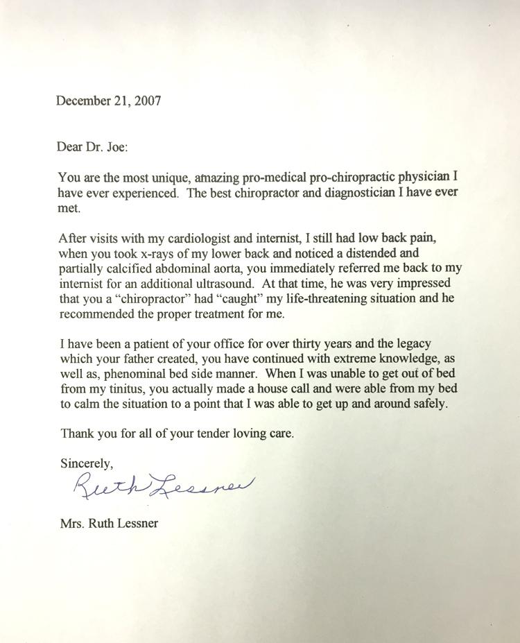 Ruth Lessner - December 21, 2007